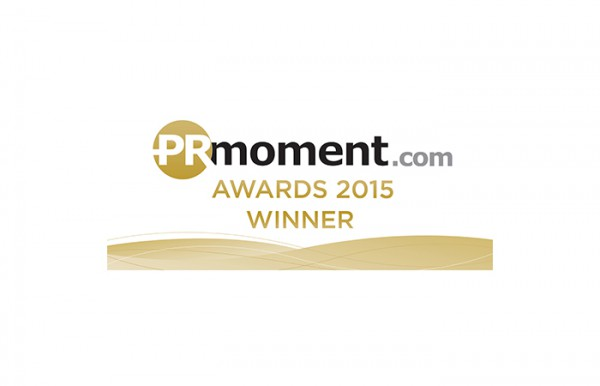 PRMoment.com Award Winner 2015